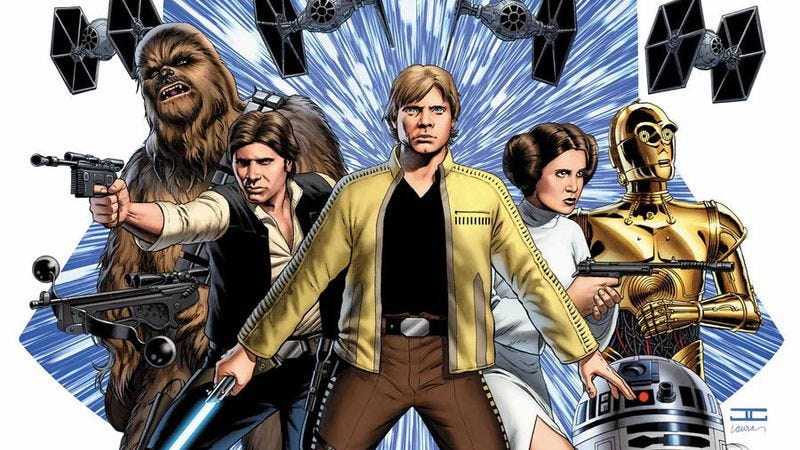 Illustration for article titled Star Wars returns to Marvel Comics with a triumphant debut