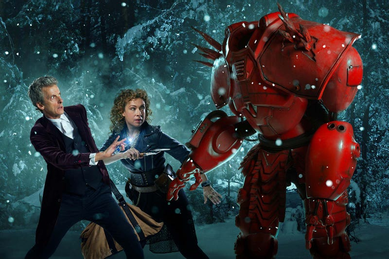 Illustration for article titled This Week's TV: River Song and the Doctor Fight a Robot Crab at Christmas!