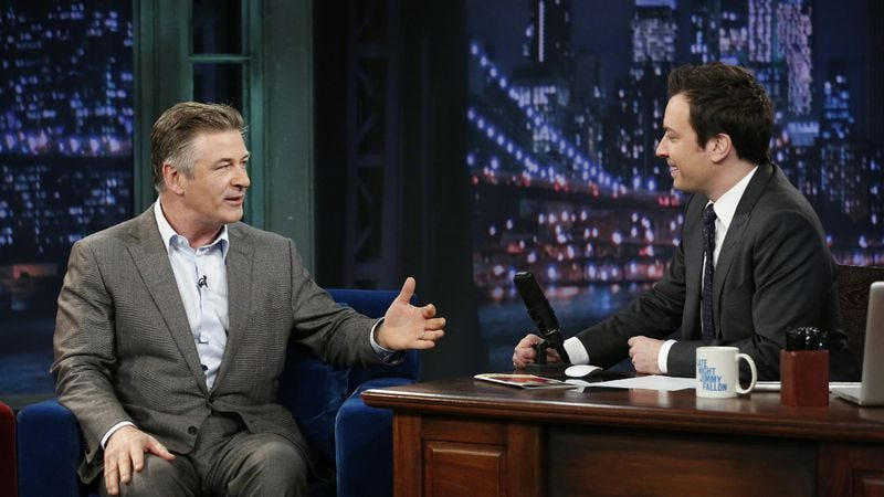 Illustration for article titled UPDATE: Alec Baldwin won't take over for Carson Daly after all