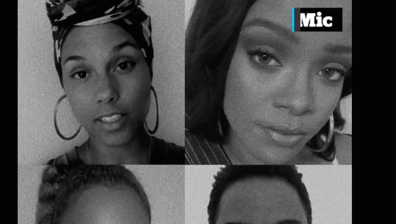 Illustration for article titled Beyoncé, Rihanna, Alicia Keys & More Make Video to Promote Racial Justice
