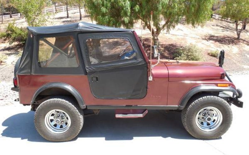 Illustration for article titled A 1986 Jeep CJ7 Laredo for $25,500?