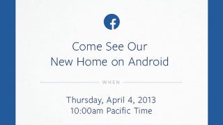 Illustration for article titled Is Facebook About to Announce a Facebook Phone Running Android?