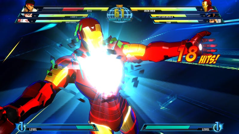 Illustration for article titled Marvel vs Capcom 3 vs Comic-Con Screenshots