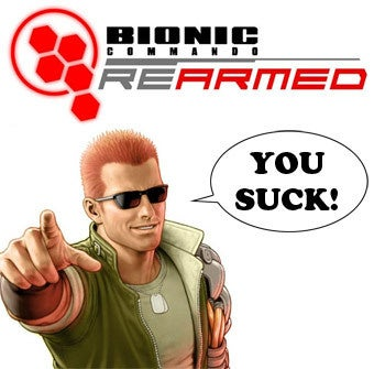 Illustration for article titled Wimpified Bionic Commando: Rearmed Patch is Now Live