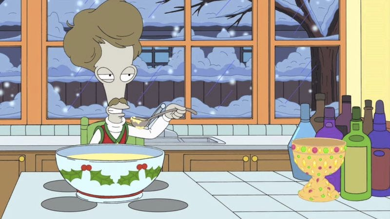 Illustration for article titled The American Dad Christmas episodes provide an antidote to holiday cheer