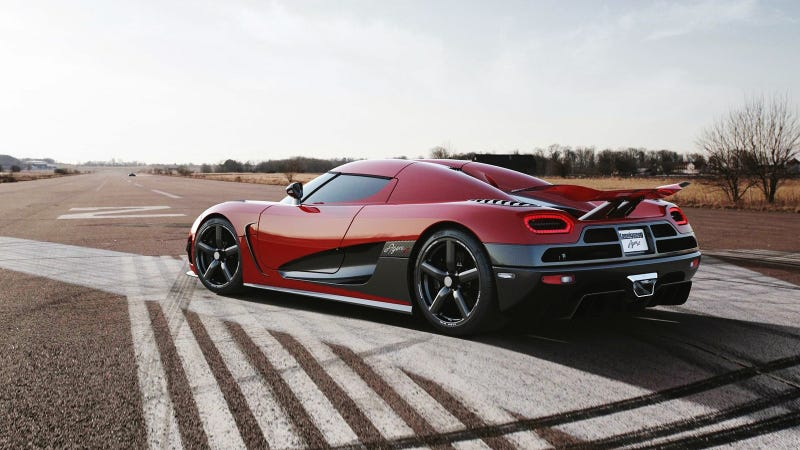 Illustration for article titled Would You Rob A Bank For A Koenigsegg?