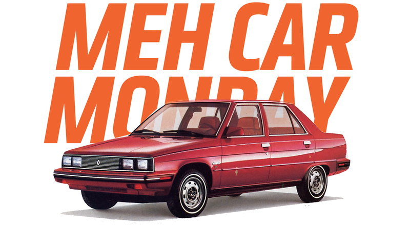 Illustration for article titled Meh Car Monday: The Amazingly Dull Renault Alliance