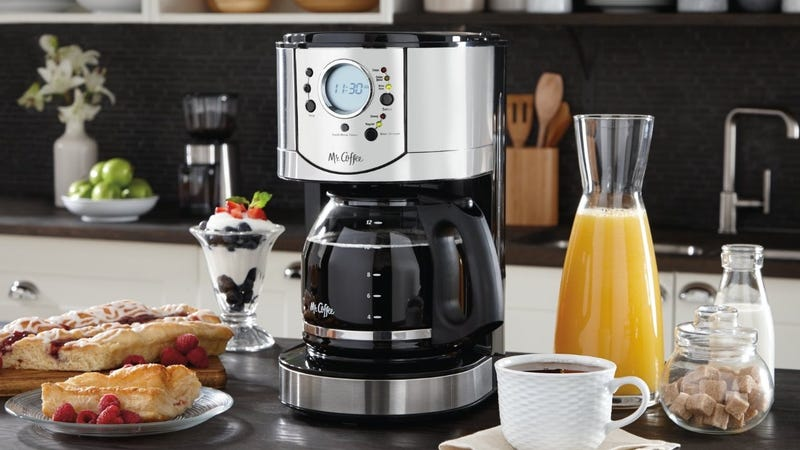 Mr. Coffee 12-Cup Programmable Coffee Brewer, $35
