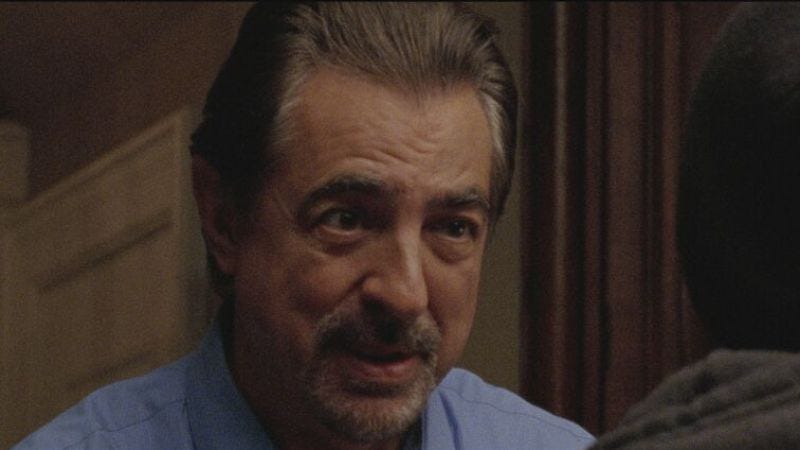 Mantegna in a scene from 10 Cent Pistol