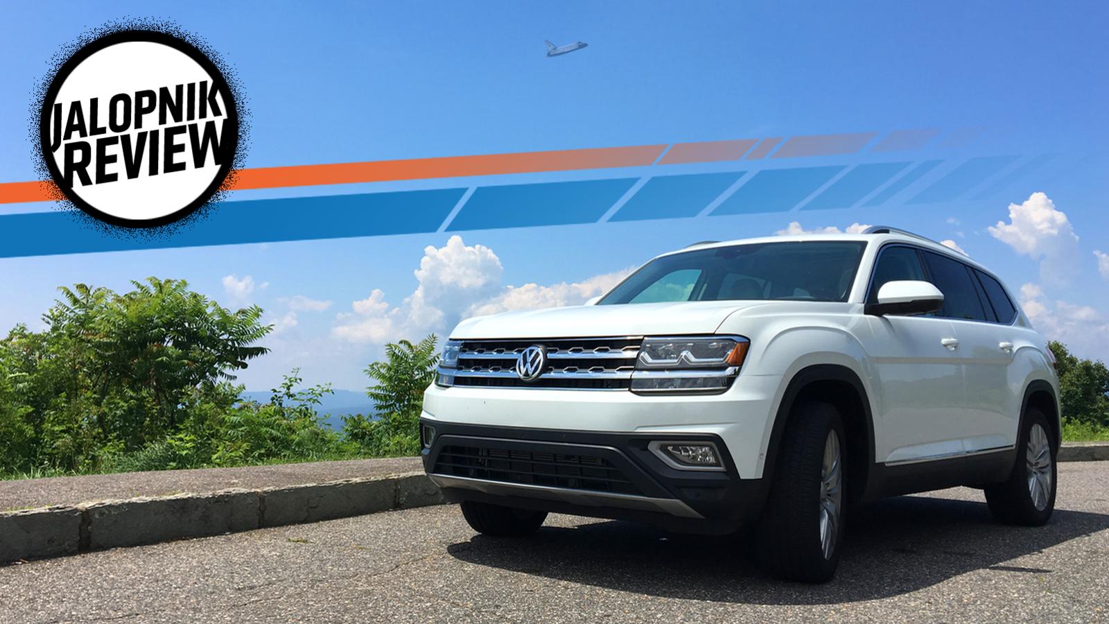 2018 volkswagen atlas looks like vw can make a pretty for Honda pilot vs vw atlas