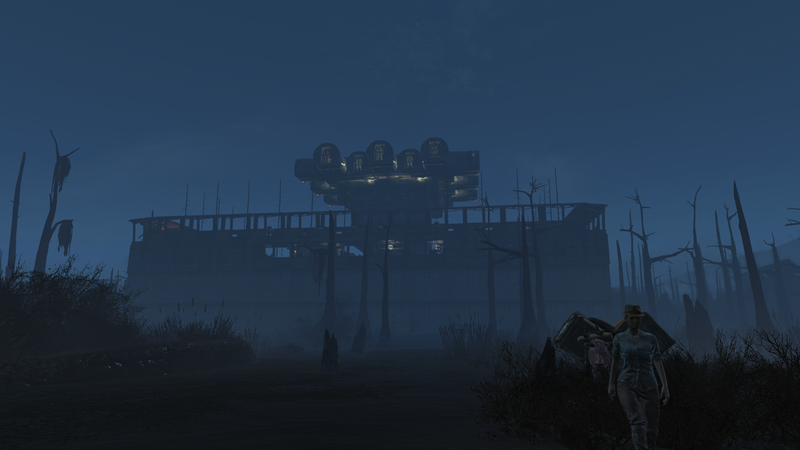 """Illustration for article titled Fallout 4""""House"""" Is More Like A Giant Citadel"""