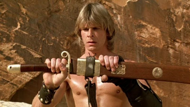 Illustration for article titled Marc Singer to appear on Arrow, but not as The Beastmaster