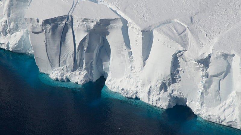 The edge of Antarctica's Getz Ice Shelf. Photo: Jeremy Harbeck/NASA
