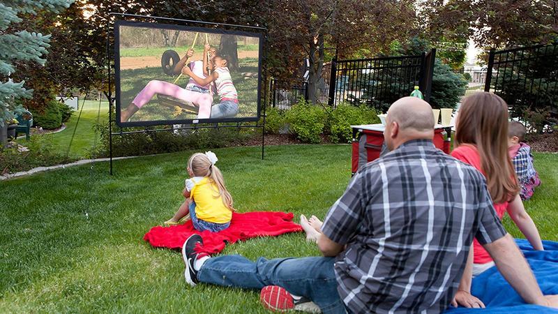 "Camp Chef 92"" Portable Outdoor Movie Screen | $90 | WootCamp Chef Portable 120"" Outdoor Movie Screens | $120 - $150 | Woot"