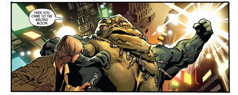 Illustration for article titled Meet the Hutt Who Helped Luke Skywalker Learn About the Jedi