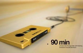 Illustration for article titled Retro Cassette MP3 Player Runs on Finger Power