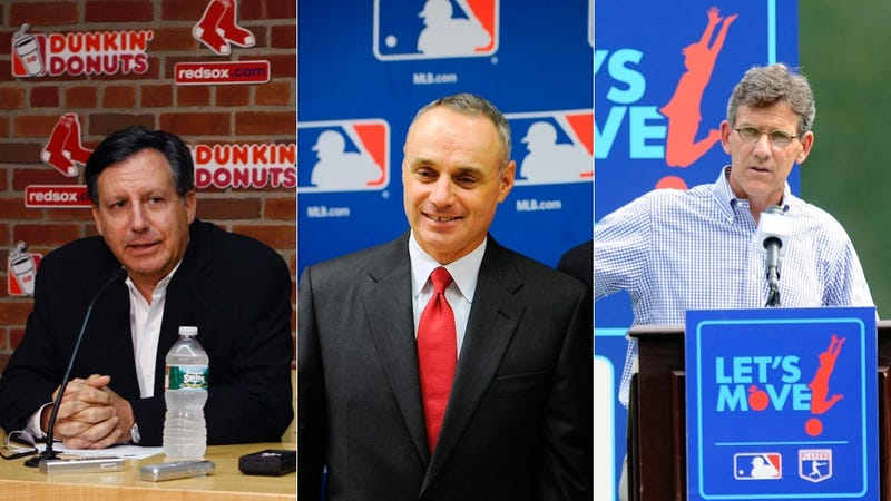 Illustration for article titled One Of These Three Men Will Be The Next MLB Commissioner