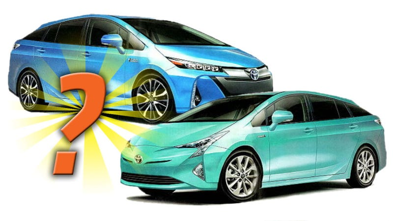 Illustration for article titled Is This The 2016 Toyota Prius?
