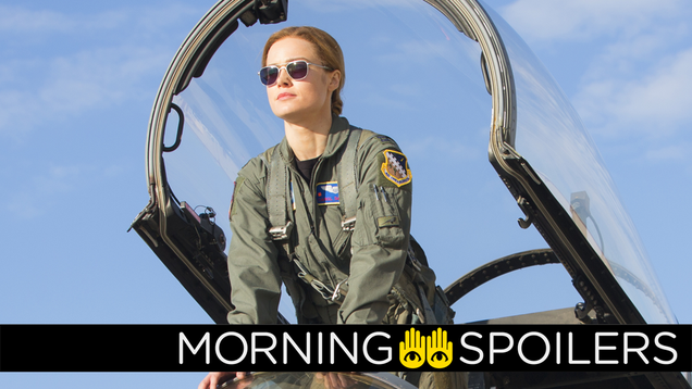 Pictures From Captain Marvel s Reshoots, Teasers for HBO s Watchmen, and More