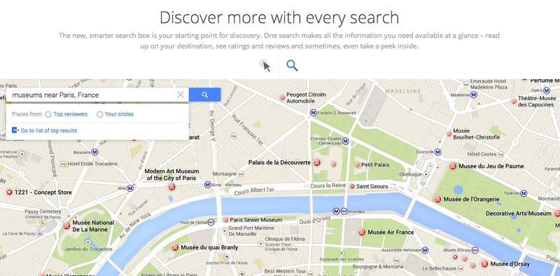 Illustration for article titled Se filtran más imágenes del nuevo Google Maps: así será