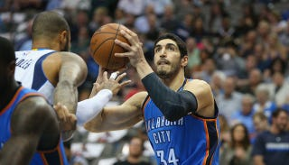 Illustration for article titled Blazers Offer Enes Kanter The Max, Stick It To The Thunder
