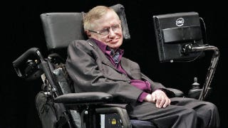 Illustration for article titled Is Stephen Hawking 'more machine now than man'?