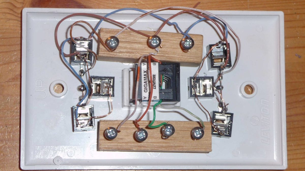 Set Up A Low Tech Whole House Speaker System Through Existing Phone Wiring For Sound Lines