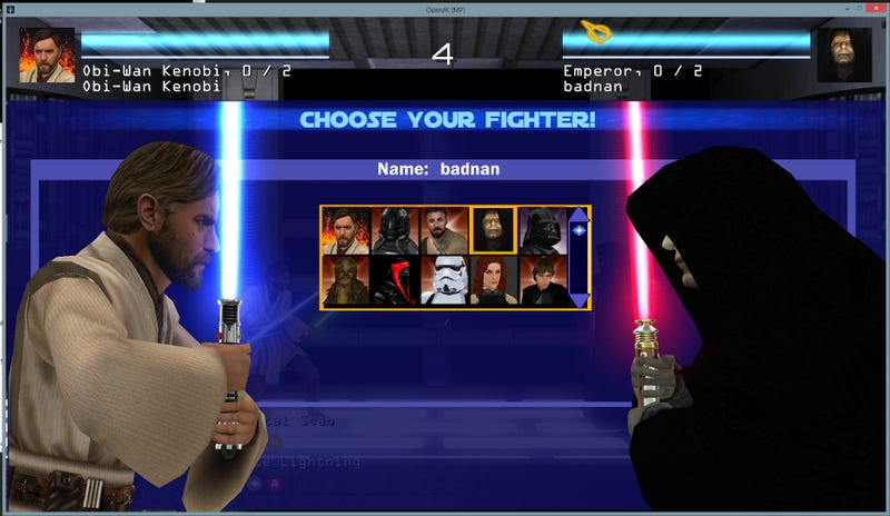 Illustration for article titled Mod Turns Star Wars Shooter Into 2D Fighter