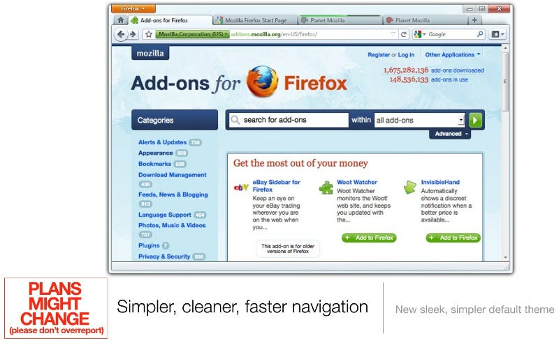 "Illustration for article titled Firefox 4 Aims to Be ""Fast, Powerful, and Empowering"""