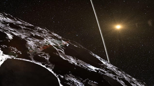 Astronomers Think They ve Found a Whole Population of Rocks From Outside the Solar System