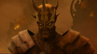 Illustration for article titled The Monstrous Return of Darth Maul to the Star Wars Universe on Clone Wars!