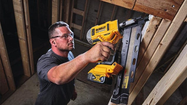 Tackle All of Your Next Home Projects With Up to 25% Off Select Ryobi and DEWALT Power Tools