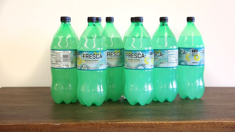 Illustration for article titled Faith In Humanity Restored! Fresca Just Donated 10 Two-Liter Bottles Of Fresca To The People Of Flint