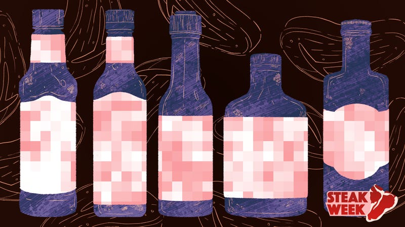 Illustration for article titled A blind taste test to determine the best steak sauce
