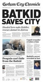 Illustration for article titled Batkid saves the city