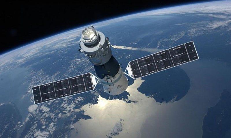 Illustration for article titled La estación espacial china Tiangong-1 se desintegrará en la atmósfera en los próximos meses