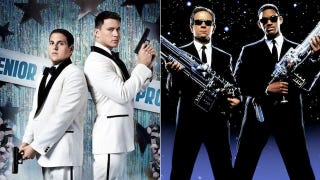 Illustration for article titled Holy Hell The Next Jump Street Movie Will Crossover With Men In Black