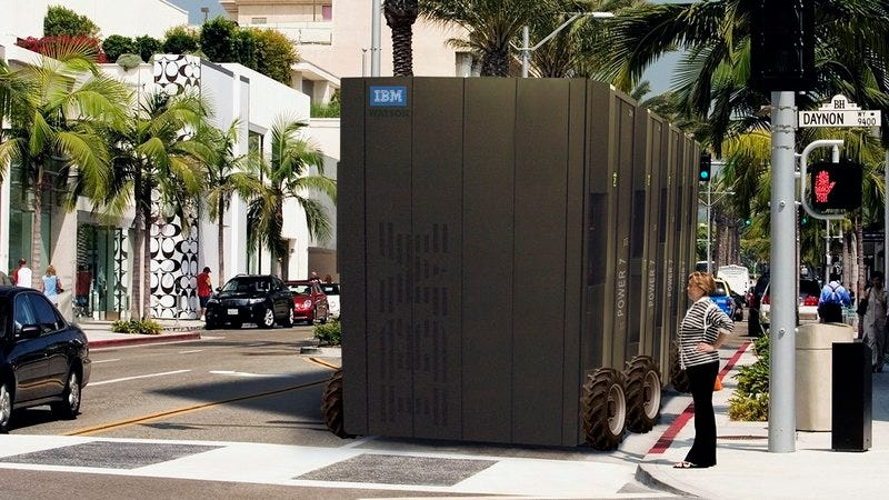 IBM's Watson with wheels.