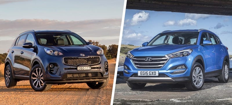 Illustration for article titled I Think The Hyundai Tucson and Kia Sportage Are US Failures