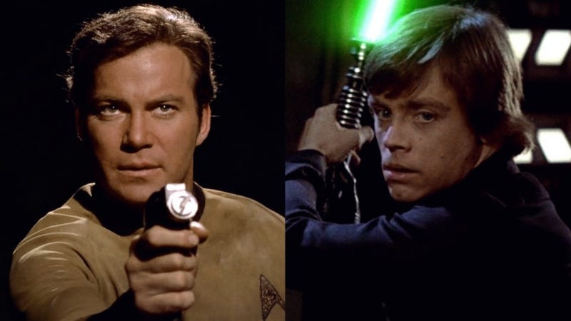 Star Wars versus Star Trek ends in knife fight