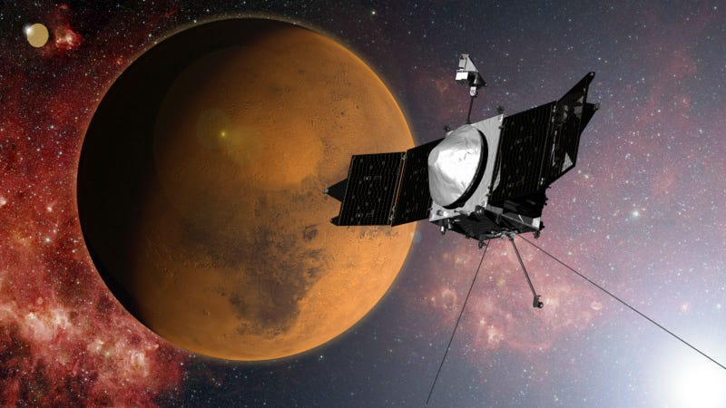Illustration for article titled Everything You Need to Know About NASA's New Mars-Orbiter