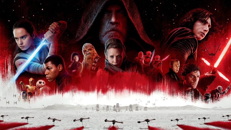 Star Wars: The Last Jedi is now available at home.