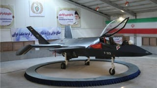 Illustration for article titled Why Iran's New Home-Grown Stealth Fighter Will Never Get Off the Ground