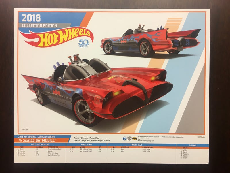 Illustration for article titled *Possible* First Reveal of the October K-Day Batmobile E-Sheet