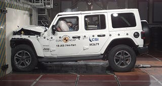 Illustration for article titled Whoops! 1 star Euro NCAP...