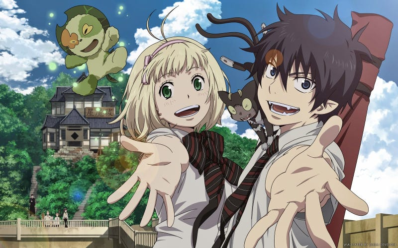 Illustration for article titled Here it is the new trailer of the second season of Blue Exorcist