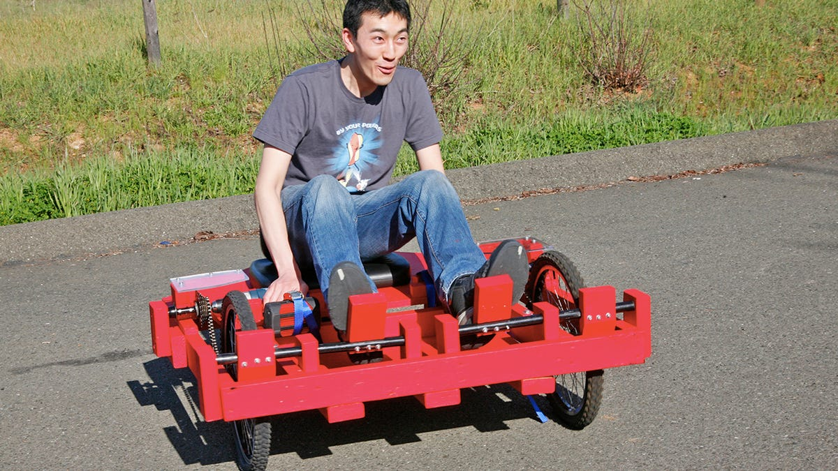 How To Build a Cheap(ish) Drill-Powered Go-Kart