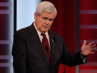 GOP presidential hopeful Newt Gingrich (Getty Images)