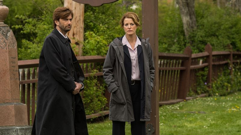 Illustration for article titled Gracepoint finally leaves Broadchurch behind