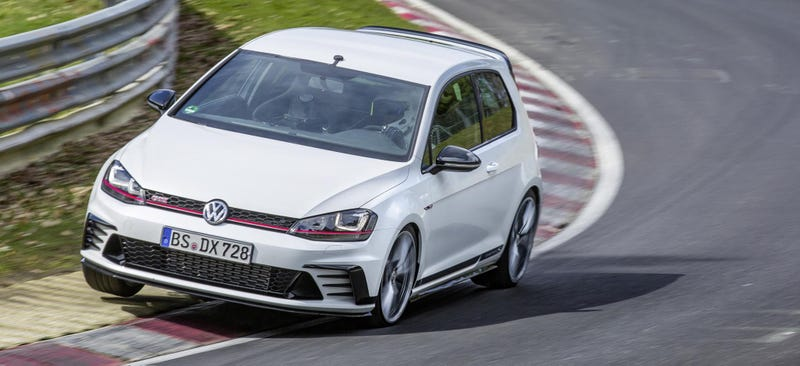 Instead Of Fast Renaults And Seats, Volkswagen Had To Beat The Honda Civic  Type Ru0027s Record This Time, And With 305 Horsepower On Tap, Their New GTI ...